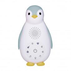 Беспроводная колонка+проигрыватель+ночник пингвинёнок Зои, голубой