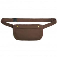 Поясная сумка, коричневая