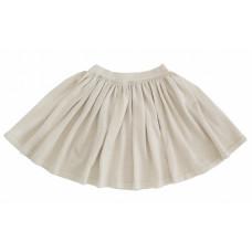 Вязаная юбка, светло-бежевая