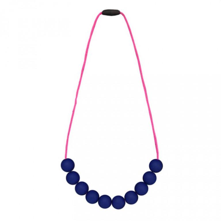 Слингобусы: синий на шнурке цвета фуксии
