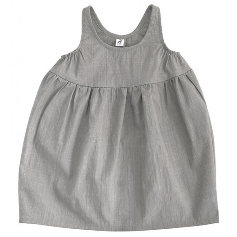 Платье Bubble, серое