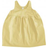 Платье Bubble, жёлтое