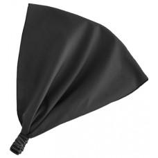 Косынка на резинке, чёрная