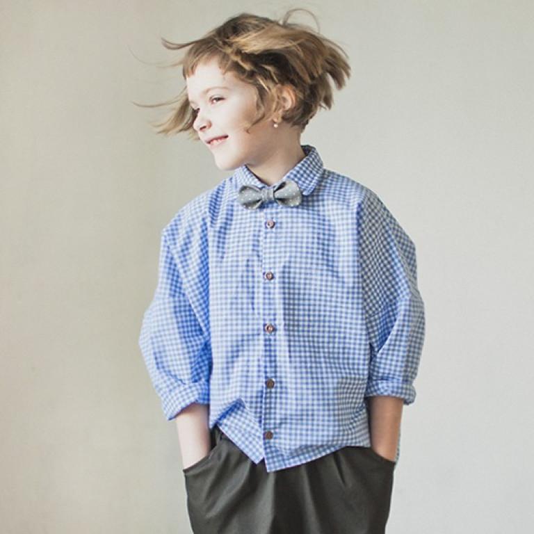 Рубашка унисекс, коралловая
