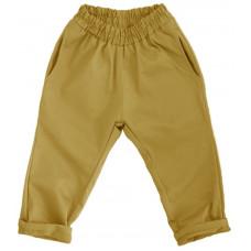Штаны унисекс, горчично-желтые