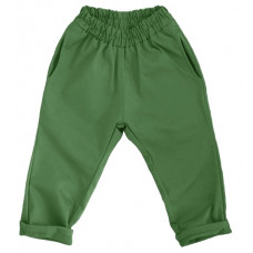 Штаны унисекс, зеленые