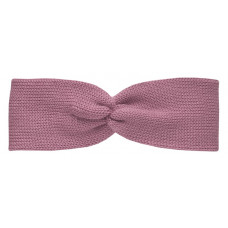 Вязаная повязка, пыльно-розовая