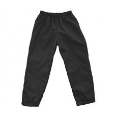 Штаны из плащевки Regular, чёрные