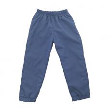 Штаны из плащевки Regular, светло-синие