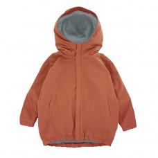 Куртка-парка, взрослая, терракотовая
