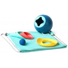 Пляжный набор Quut (Mini Ballo + Cuppi + Magic Shaper)