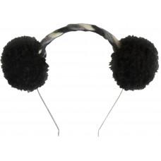 Аксессуар на голову Tress Pom-Pom, черный