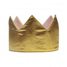 Корона двухсторонняя, золотая