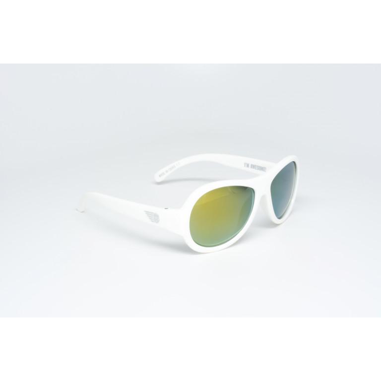 Поляризационные солнцезащитные очки Babiators Polarized. Шаловливый белый (Wicked White)