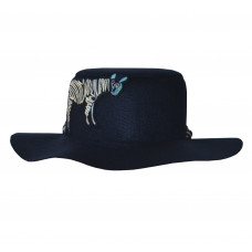 """Шляпа """"Зебра"""", синяя"""