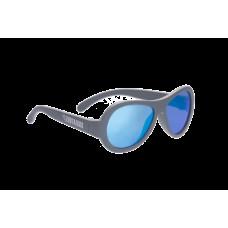 Солнцезащитные очки Babiators Original Aviator (Premium). Синяя сталь (Blue Steal). Зеркальные линзы