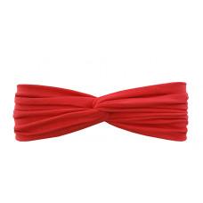 Трикотажная повязка на голову, перекрученная, на 1-3 года, цвет в ассортименте