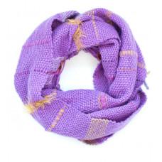 Мягкий шарфик ручного ткачества VIOLET для взрослых и детей от 12 лет