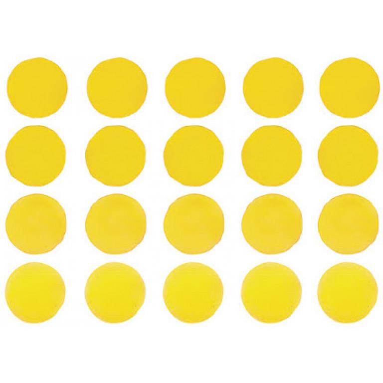 """Интерьерная наклейка """"Набор разноцветных акварельных кружочках конфетти"""""""