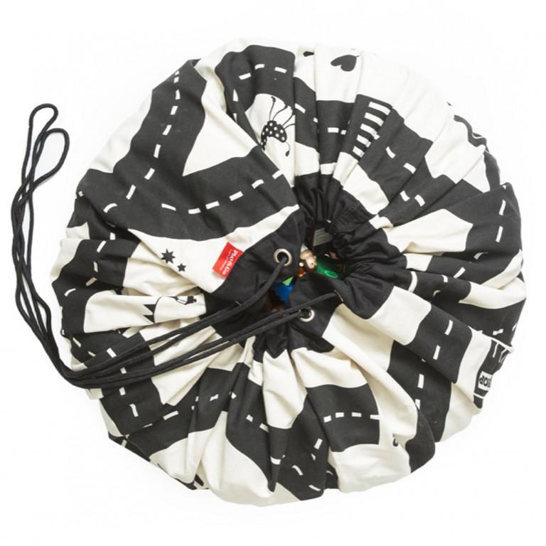 Мешок для хранения игрушек и игровой коврик Play&Go. Print.