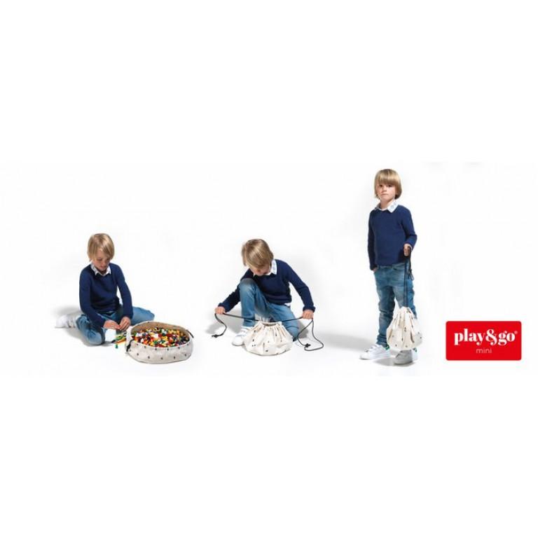 Мини-мешок для хранения игрушек и игровой коврик Play&Go