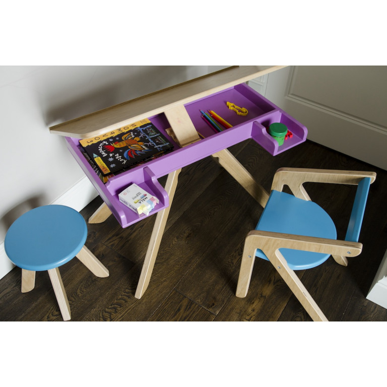 Стол Malevich фиолетовый