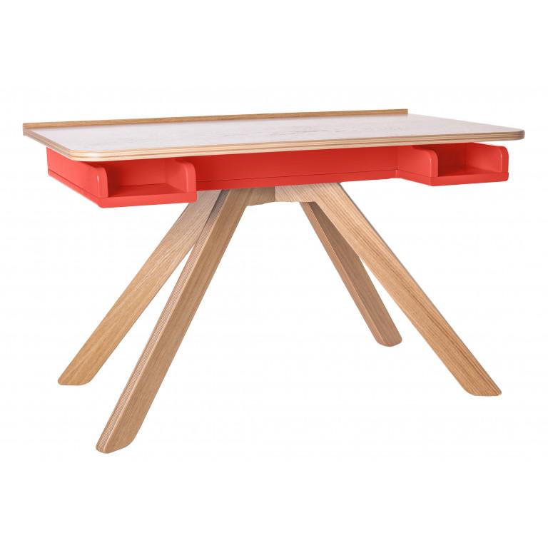Стол Malevich красный