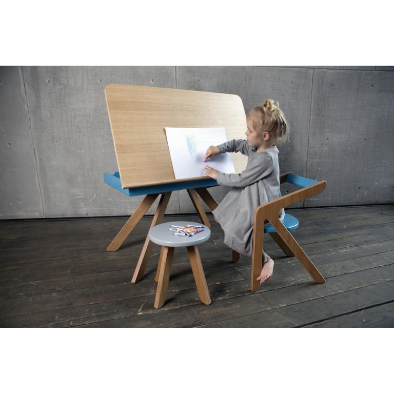 Стул Malevich синий