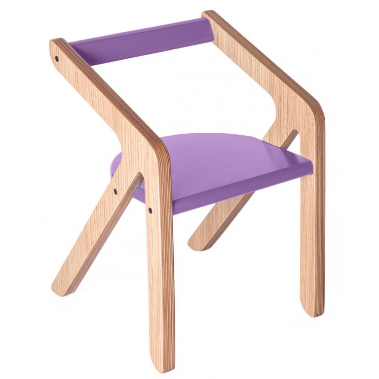 Стул Malevich фиолетовый