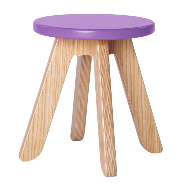 Табурет Malevich фиолетовый