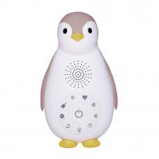 Беспроводная колонка+проигрыватель+ночник пингвинёнок Зои, розовый