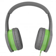 Наушники для детей от 2 лет с ограничением звука kidrox rs4, серый/зелёный