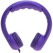 Наушники для детей от 3 лет с ограничением звука, фиолетовые
