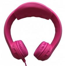 Наушники для детей от 3 лет с ограничением звука, розовые