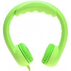 Наушники для детей от 3 лет с ограничением звука, зелёные