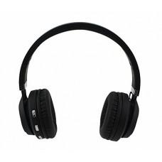 Складные беспроводные Bluetooth наушники Artix BT5 + 3.5 мм разъем, чёрные