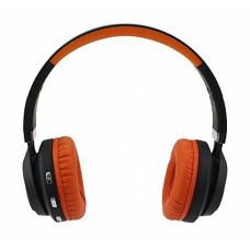 Складные беспроводные Bluetooth наушники Artix BT5 + 3.5 мм разъем, оранжевые