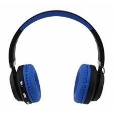Складные беспроводные Bluetooth наушники Artix BT5 + 3.5 мм разъем, синие