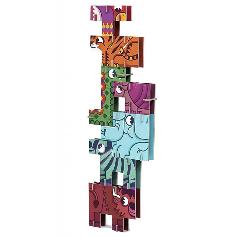 "3D пазл – головоломка ""Сафари"""
