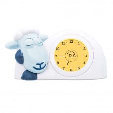 Часы-будильник для тренировки сна Ягнёнок Сэм, голубой