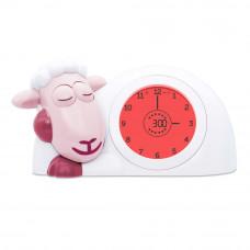Часы-будильник для тренировки сна Ягнёнок Сэм, розовый