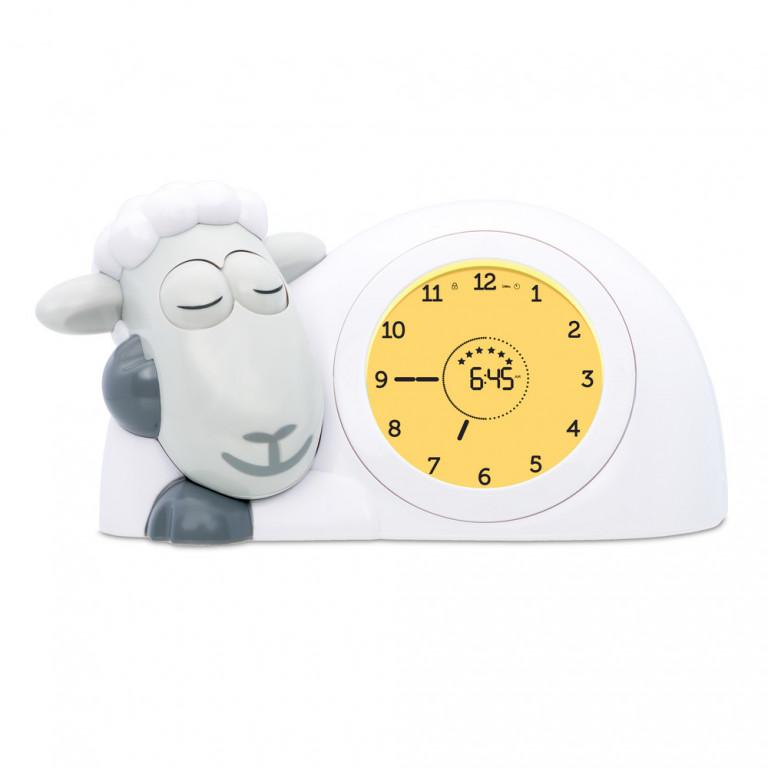 Часы-будильник для тренировки сна Ягнёнок Сэм, серый