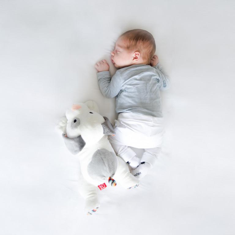 Музыкальная мягкая игрушка-комфортер Декс