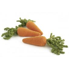 Вязаная морковь