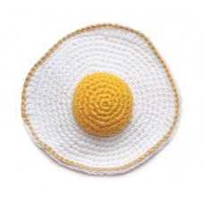 Вязаная яичница