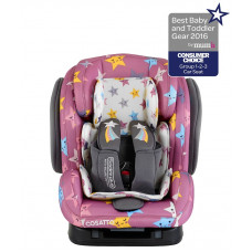 Автокресло COSATTO HUG ISOFIX HAPPY STARS 1-2-3