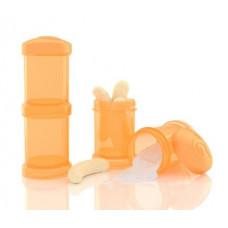 Контейнеры для сухой смеси Twistshake, оранжевые