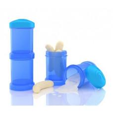 Контейнеры для сухой смеси Twistshake, синие