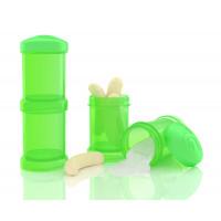 Контейнеры для сухой смеси Twistshake, зелёные