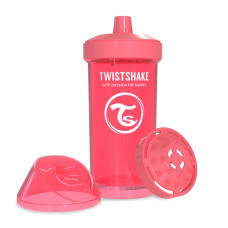 Поильник Twistshake Kid Cup 360 ml, коралловый